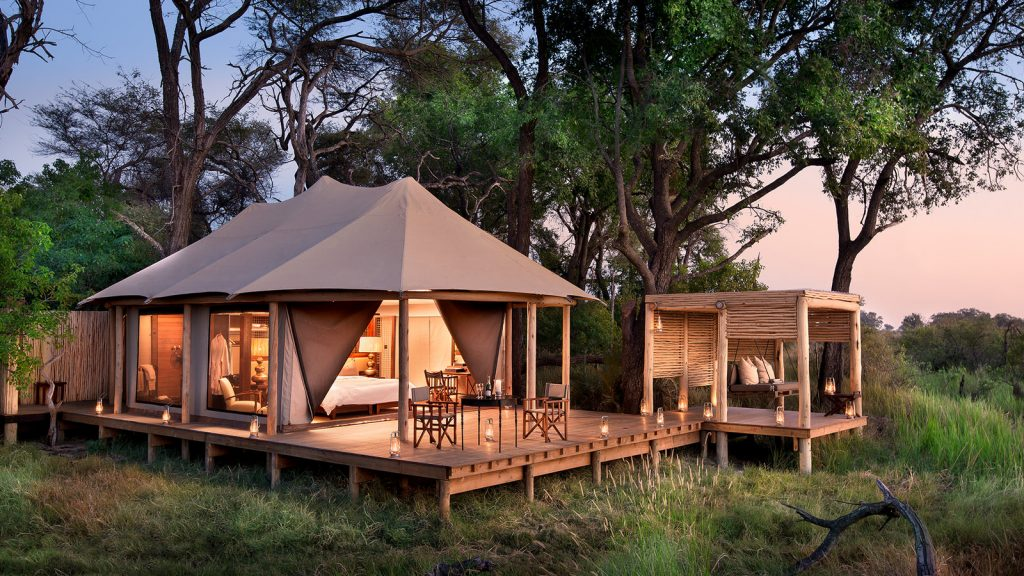 lodge en Africa. consejos para organizar un safari en Africa