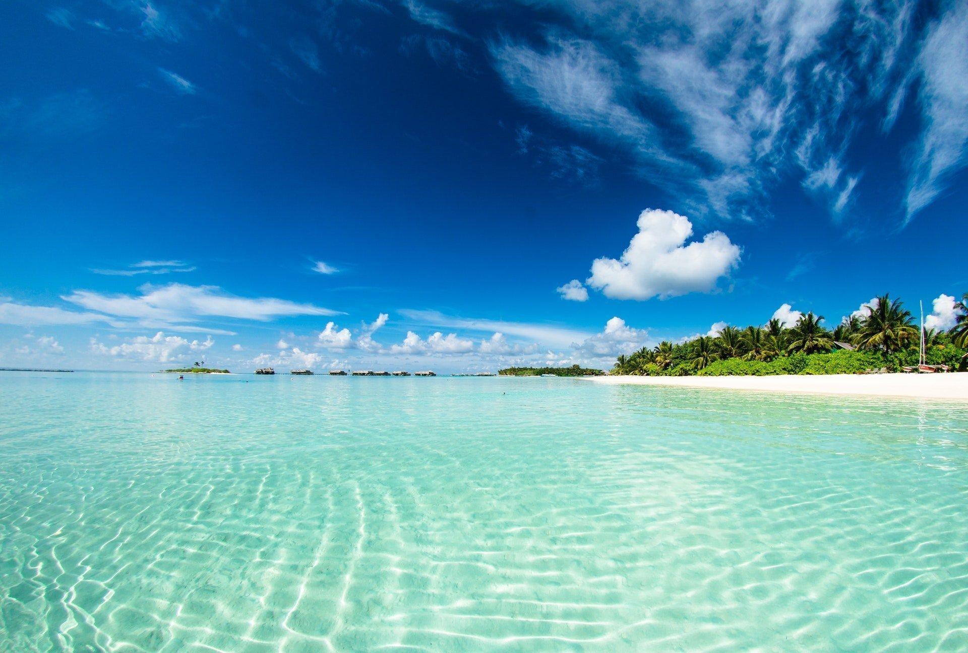 Hoteles de lujo en Maldivas.